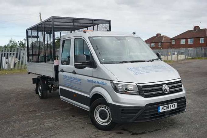 Volkswagen Crafter Cr35 Lwb Diesel 2.0 TDI 140PS Startline Chassis cab Auto